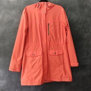 COLUMBIA Hooded Waterproof Rain Coat Parka Jacket